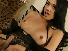 Hot Jessica jerks herself rock hard