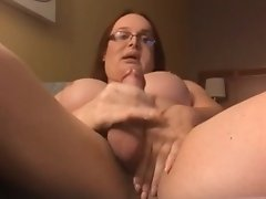 Wendy Arrives in the Hotel Wet and Horny and Releives Herself by Cumming on the Couch